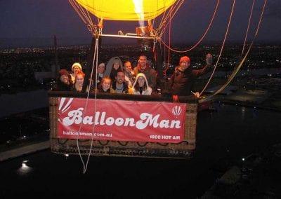 Happy BalloonMan passengers