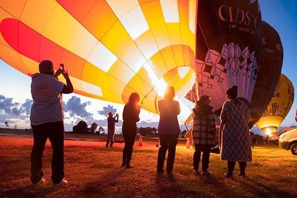 Balloon Flight Sunrise