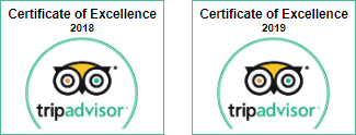Trip Advisor Certificate 2018 2019