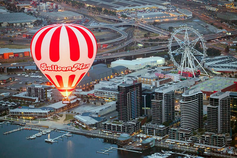 BalloonMan over Melbourne